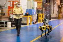 Hunderobotter optimerer Fords fabrikker