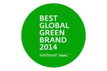 Ford överst bland världens gröna varumärken