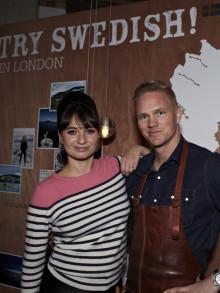 Jämtland Härjedalen marknadsför svensk mat i London