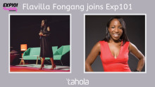 We are delighted to welcome.....Flavilla Fongang