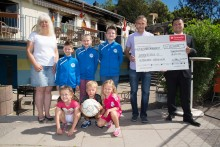Aufbauhilfe: Santander spendet 2 500 Euro an Badenstedter SC