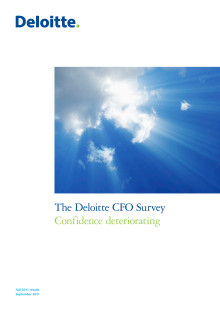 Deloitte CFO Survey Fall 2011