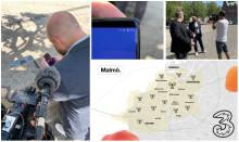 Nu finns 5G i Malmö, Lund och Helsingborg – första 5G-samtalet gick till Markus Rosenberg
