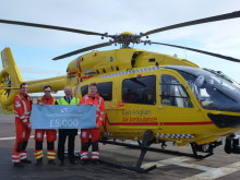 Fred. Olsen-related companies support the Royal National Lifeboat Institution and East Anglian Air Ambulance with a further £10,000 donation