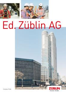 Ed. ZÜBLIN AG: Company Profile (brochure)