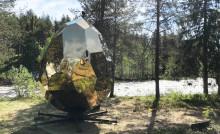 Pressinbjudan: Världskända bastun Solar Egg tillbaka i Malmfälten