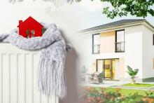 Steigende Heizkosten betreffen vor allem unsanierte Häuser – Energiesparhäuser machen unabhängiger von Öl und Gas