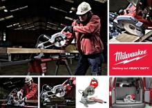 Milwaukee® introducerer den nye kompakte  kap-/geringssav MS216 SB med høj ydeevne!