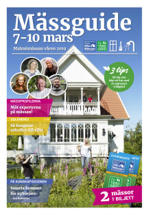 Mässguiden Stora Villamässan &  Vår Trädgård  - Malmömässan 2019