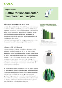 White paper om digitala kvitton