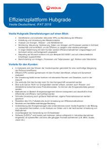 Factsheet: Effizienzplattform Hubgrade