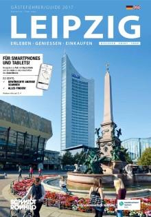 """Der 9. Gästeführer """"Leipzig. Erleben - Genießen - Einkaufen"""" für das Jahr 2017"""