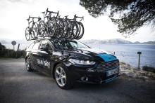 Ford oznámil smlouvu o partnerství  s elitním cyklistickým týmem Sky, stane se jeho exkluzivním dodavatelem automobilů