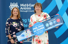 Mayor backs NI Water awareness campaign to 'flush out' costly sewer blockages