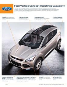 Ford Vertrek interiört/exteriört Faktablad