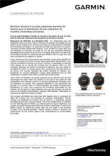 CP Garmin_Bucherer devient le nouveau partenaire premium de Garmin