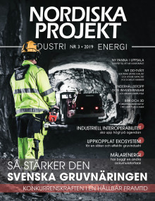 Nya numret av Nordiska Projekt nr 3 2019 ute nu!