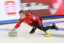 Curling-VM: Nytt landslag för Alexander och idag mötte han sina gamla lagkompisar i lag Edin