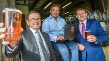 Award winning brewery in rural Devon celebrates arrival of ultrafast broadband