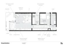 Planlösning, Emma och Axels lägenhet