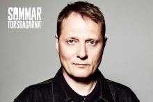 Magnus Carlson på scen mitt under SM-veckan - Sommartorsdagarna® den 6 juli