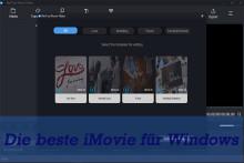 [2020] Die besten 6 iMovie-Alternativen - iMovie für Windows