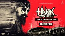 Hank von Hell streamar konsert från Ullevi