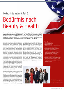 Gerlach in den USA: Bedürfnis nach Beauty & Health