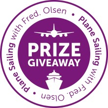It's all 'Plane Sailing' with Fred. Olsen Cruise Lines!