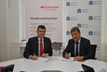 Santander und Universität des Saarlandes kooperieren für internationale Alumni-Arbeit