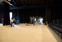 Pressinbjudan:  Nyrenoverad och ombyggd scenkonstsal i Lokstallarna