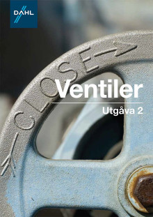 Ventiler,  en viktig produkt för att reglera flöden, presenteras av Dahl Sverige AB under Nordbygg