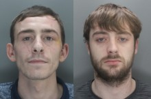 Two men jailed for firearm possession in Old Swan