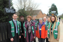 Mayor of Watford praises community rail projects on the Abbey Line