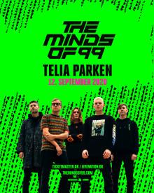 The Minds of 99 sætter yderligere 13.000 billetter til salg i Telia Parken.