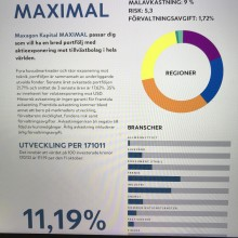 Maxagon Kapital AB : Uppdatering,  Nyhetsbrev september