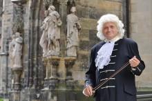 Ein neuer Bach für Leipzig - Gästeführer Thomas Zemmrich schlüpft ins Kostüm des berühmten Thomaskantors