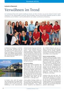 Gerlach in Österreich: Verwöhnen im Trend