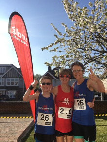 Sussex family go the extra mile (or 26) to support bowel cancer charity