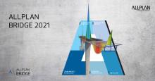 Allplan Bridge 2021 links Structural Analysis, Design and Detailing