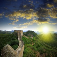 The Great Wall of China: from Tianjin