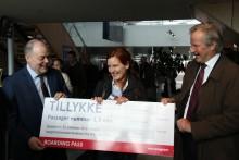 Norwegian runder 3,5 millioner passagerer i Aalborg