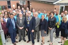 "Town centre estate ""reopens"" following £2m regeneration work"