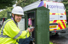 North Tyneside plays leading role in Britain achieving 95 per cent superfast broadband target