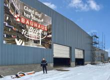 Bauhaus Vejle udvider med drive-in