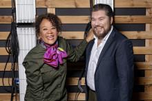 Hella Joof og Rasmus Bjerg er værter for  Dansk Melodi Grand Prix 2020