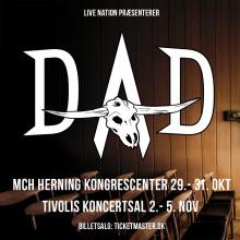 D-A-D aflyser to store koncerter og annoncerer 8 små, intime shows.