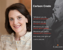Carlson's 80th Anniversary: Diana Nelson reflects