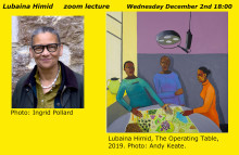 Uncovering and celebrating marginalised histories – welcome to a zoom lecture with artist Lubaina Himid