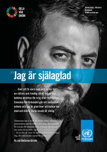 Abdulalim från Gotland vill dela sin dröm med fler